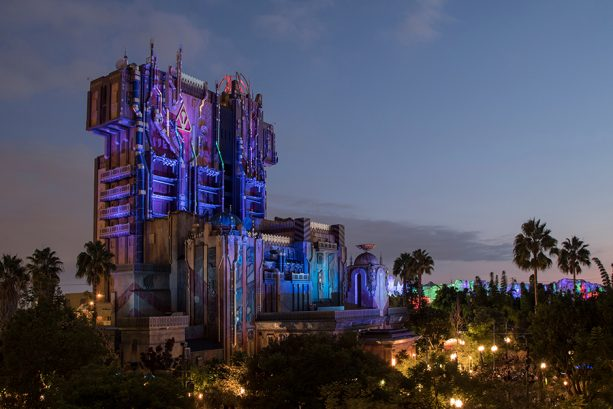 Guardians of the Galaxy – Monsters After Dark in Disney California Adventure park