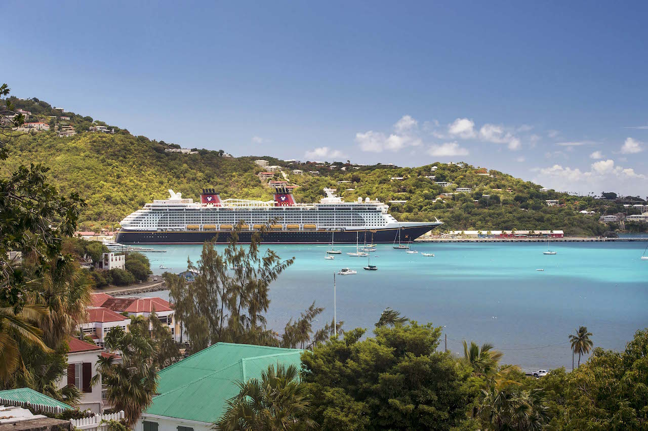 Disney Fantasy at Tortola