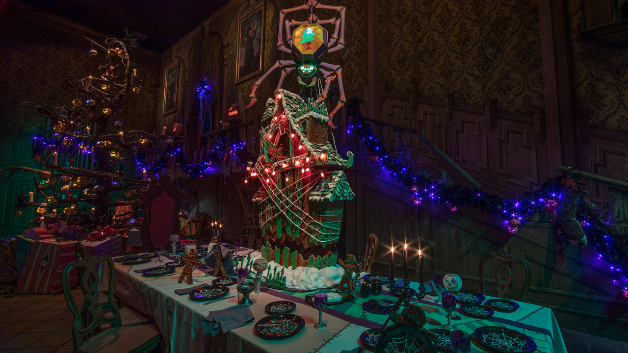 Behind The Scenes Haunted Mansion Holiday Gingerbread