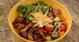 Island Bowl with Vegan Chipotle Seitan at Centertown Market at Disney's Caribbean Beach Resort