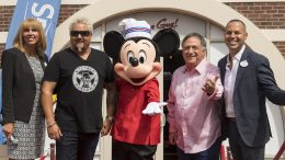Guy Fieri at the Grand Opening of Chicken Guy! at Disney Springs