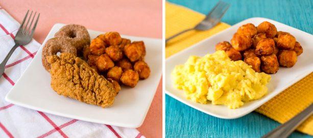 Kid's Breakfast Dishes at Early Morning Magic at Toy Story Land at Disney's Hollywood Studios