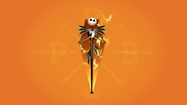 She jumped in fright (and joy!) at the chance to create art of the Pumpkin King and Oogie Boogie Man. Eureka! These wallpapers will be ...