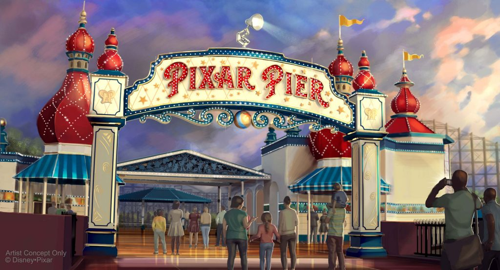 Pixar Pier Opening June 23 at Disney California Adventure Park