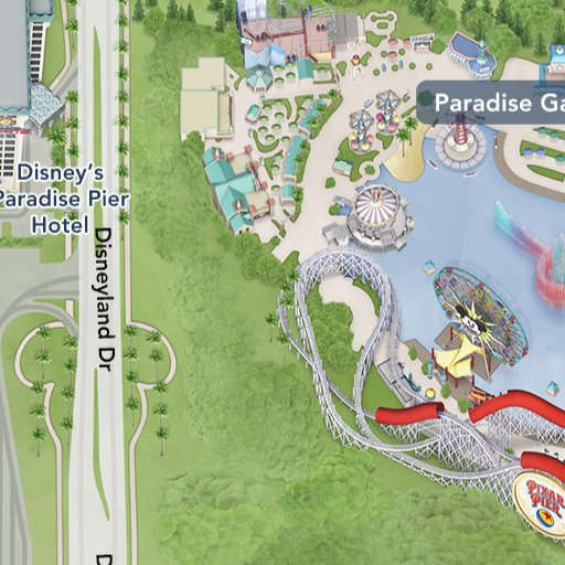 Disney Los Angeles Map.Radiator Springs Racers Rides Attractions Disney California