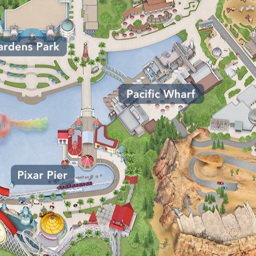 Pixar Pier Disneyland Resort