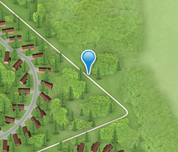 Map of Disney's Davy Crockett Ranch - Your stay in the heart of nature