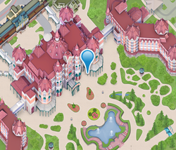 Map of Disneyland Hotel