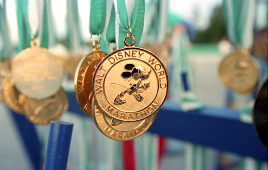 Original Walt Disney World Marathon Finisher Medal