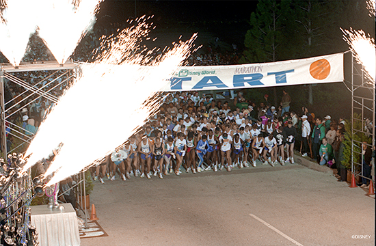 Start of the first Walt Disney World Marathon in 1994