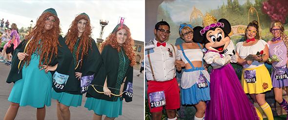 Merida group costume. Hip Prince and Princesses group costume