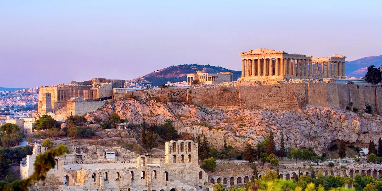 Visit the Acropolis on the Greek tour