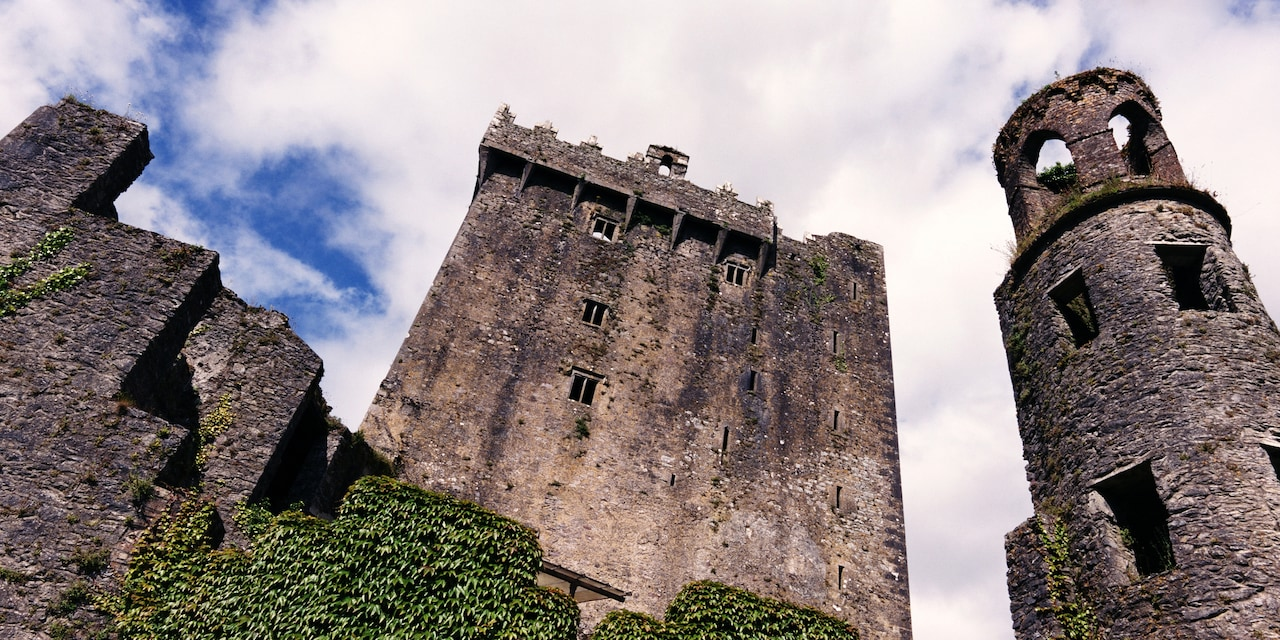 The medieval Blarney Castle