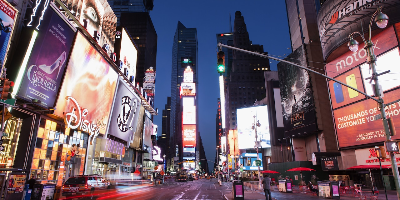 New york city tours vacation adventures by disney for New york new york on the town