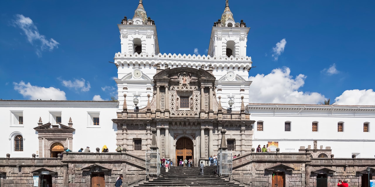 Church and Convent of St. Francis in Quito, Ecuador