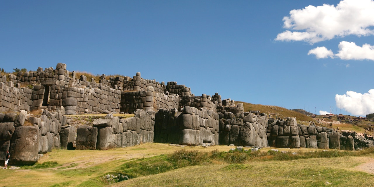 The imposing Inca stone fortress of Sacsayhuaman
