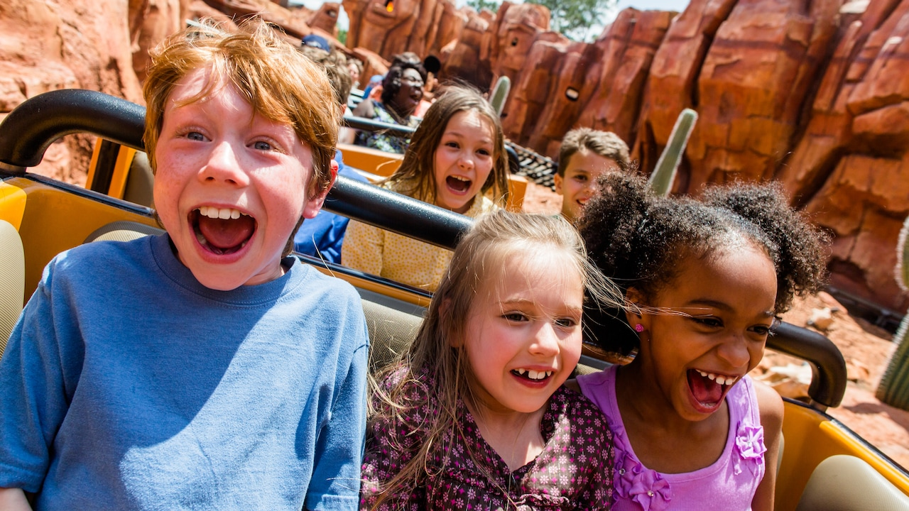 Find special opportunities for fun with attractions and Disney Character meetings especially for young children.