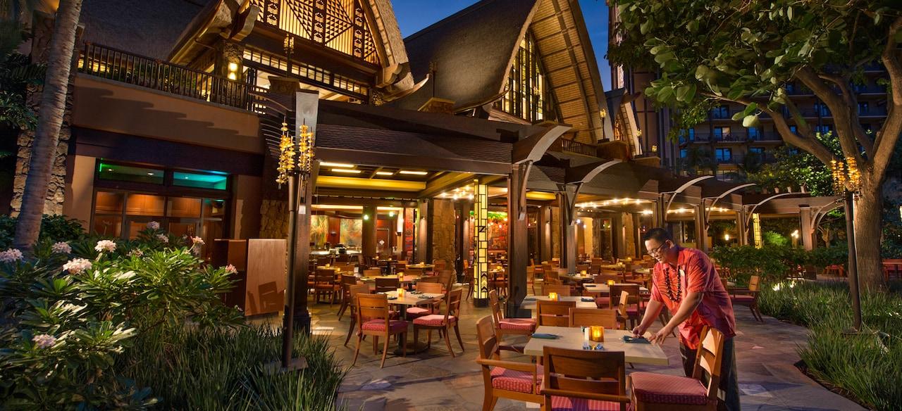 アウラニ・ディズニー・リゾート & スパ コオリナ・ハワイのレストラン、マカヒキ
