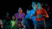 Audiences of all ages look on in awe at this Disney California Adventure attraction