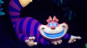 On this classic Fantasyland attraction in Disneyland park, get a peek at the Cheshire Cat...before he disappears