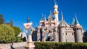 Majestic Sleeping Beauty Castle at Disneyland Park