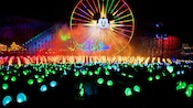 Guests' Glow with the Show Ear Hats react to the World of Color music