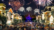 Remember... Dreams Come True' Fireworks Spectacular over Main Street, U.S.A.