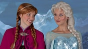 Anna, Princess of Arendelle, and Elsa, the Queen