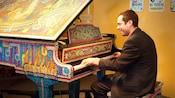 Pianist at Ralph Brennan's Jazz Kitchen – Flambeaux's Jazz Club, a Downtown Disney restaurant