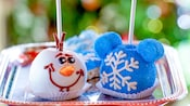 Holiday Candy Apples at Disneyland Resort