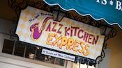 Sign for: Ralph Brennan's Jazz Kitchen Express, A Taste of New Orleans