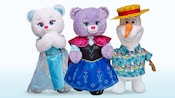 Build-A-Bear characters from Disney Frozen features sisters Elsa Bear and Anna Bear