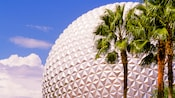 Partial view of Spaceship Earth