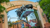Entrance to the Rock 'n' Roller Coaster Starring Aerosmith at Disney's Hollywood Studios