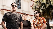 Members of the band Smashmouth