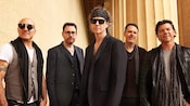 5 members of the rock band BoDeans