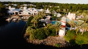 Vista panorâmica do Disney's Old Key West Resort