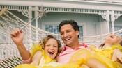 Una familia en un hotel Disney Resort