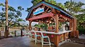 Exterior of the Polar Pub bar at Disney's Blizzard Beach water park