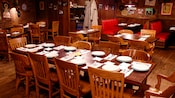 Ample seating at the tables and booths at Mama Melrose's Ristorante Italiano