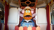 Very large, animated and interactive Mr. Potato Head Boardwalk Barker