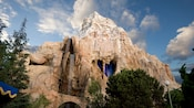 Matterhorn Mountain, location of Matterhorn Bobsleds attraction