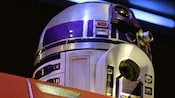 R2-D2 on Star Tours – The Adventures Continue, a Disneyland attraction