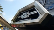 Sign for Star Tours, The Adventure Continues