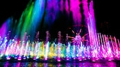 World of Color water, light and music show at Disney California Adventure Park