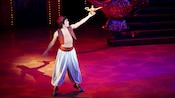 Aladdin, the star of Disney's Aladdin – A Musical Spectacular