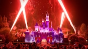 Magical' Fireworks over Sleeping Beauty Castle at Disneyland Park