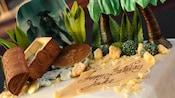 Elaborate Pirates of the Caribbean cake for a Disneyland birthday celebration