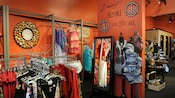 Clothing displays at Apricot Lane Boutique, a Downtown Disney shop