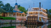 The 3-tiered riverboat Liberty Belle—a steam-powered paddle wheeler